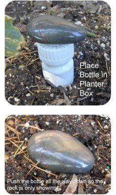 15 Secret Hiding Places That Will Fool Even the Smartest Burglar - Page 2 of 15 - DIY Crafts- or maybe geocaching ideas Hiding Rocks, Hiding Spots, Armoire Buffet, Trick 17, Secret Hiding Places, Pill Bottles, Prescription Bottles, Medicine Bottles, Empty Bottles