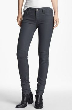 HELMUT Helmut Lang 'Shale' Skinny Stretch Jeans available at #Nordstrom