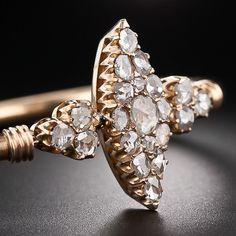 Imperial Russian Rose-Cut Diamond Bracelet