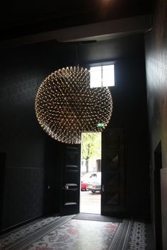 How about that for an entry way? // Moooi Raimond Hanging Lamp
