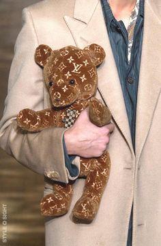 Louis Vuitton teddy bear (BB)