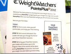 weight watchers info