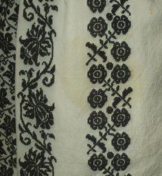Antique Romanian Folk Costume Ethnic Peasant Dress Embroidered Blouse Skirt RARE | eBay