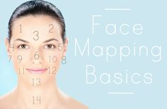 How To Read Your Skin: Face Mapping Basics - Effortless Skin Blog