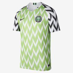 2018 Nigeria Stadium Home Men s Soccer Jersey Football Kits 6fb371e81
