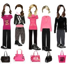 The Perfect Little Princesses-- Dance Class, created by julia-couture on Polyvore