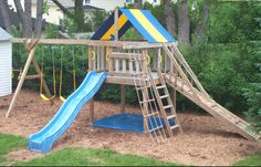Fort and swing set plans