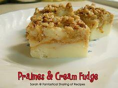 Pralines and Cream Fudge