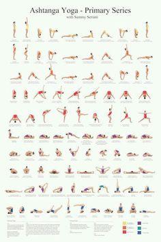 ♡ ashtanga yoga asanas ♡