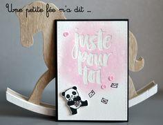 Carte Panda Mama Elephant