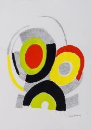 Sonia Delaunay (1885-1979) - Les Illuminations