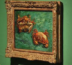 Van Gogh's Crabs - the National Gallery, London