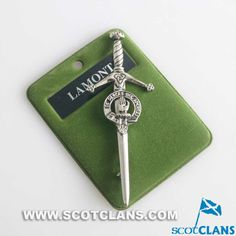 Lamont Clan Crest Kilt Pin