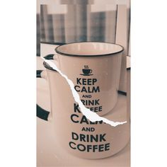 #coffee #coffeemug #mug #keepcalm #drinkcoffee #vintage #coffeelover