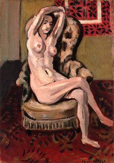 Seated Nude Henri Matisse - 1927