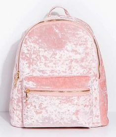 Light Pink Outfit From Bershka Girly Backpacks, Cute Backpacks For Traveling, Cute Mini Backpacks, Sequin Backpack, Backpack Bags, Cute Purses, Purses And Bags, Light Pink Backpack, Pink Accessories