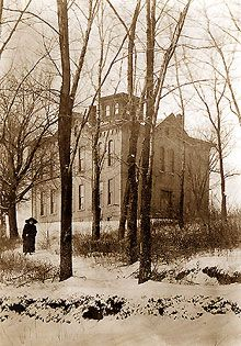 Old North College - KU's first building