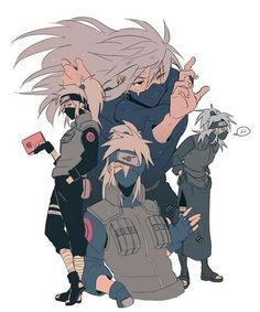 Kakashi Hatake || Longer Hair