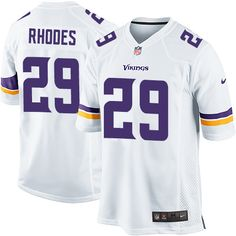 Nike Limited Xavier Rhodes White Youth Jersey - Minnesota Vikings #29 NFL Road