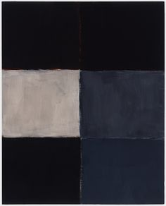 sean scully - oil on linen - fold barcelona (2002)