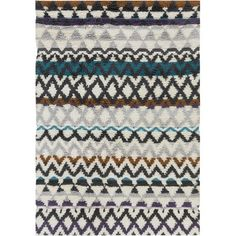 Levell Hand Woven Gray Area Rug