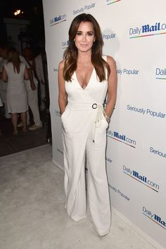 Kyle Richards Photos Photos - TV personality Kyle Richards attends the Daily Mail Summer White Party with Lisa Vanderpump at Pump on July 27, 2016 in Los Angeles, California. - Daily Mail Summer White Party with Lisa Vanderpump - Arrivals