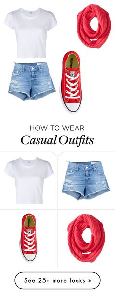 """""""Casual Days"""" by jzsharar on Polyvore featuring Cole Haan, rag & bone/JEAN, RE/DONE and Converse"""