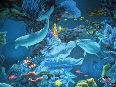 NEW Finding Nemo Dory Ocean 100/% Cotton Quilting Fabric Sold By FQ Fat Quarter