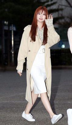 Fashion Tag, Kpop Fashion, Daily Fashion, Korean Fashion, Girl Fashion, Airport Fashion, Yu Jin, Japanese Girl Group, Kim Min