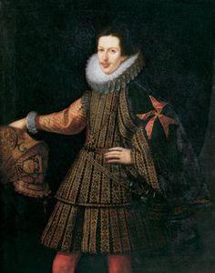 Cosimo II de' Medici, Grand Duke of Tuscany - married a Habsburg princess, Maria Magdalena of Austria