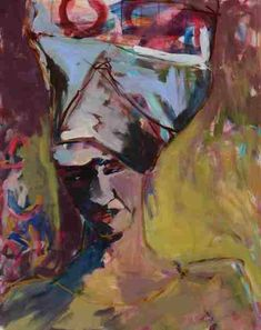 Gisela Hammer - Painting - A African Life, African Women, Arts Award, Contemporary Art, Original Art, Artwork, Painting, African Art, Genoa Italy