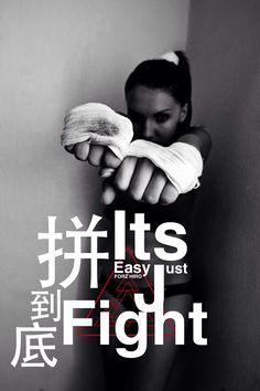 It's easy Just Fight
