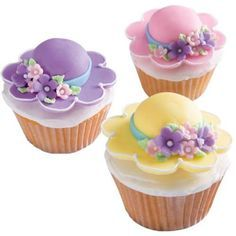 fancy easter cupcake bouquets - Google Search