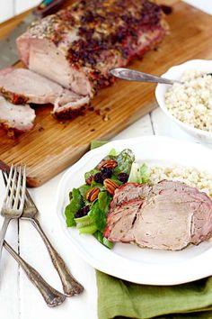 Rosemary and Garlic Roasted Pork Loin