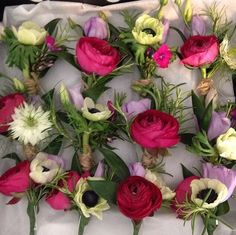 Love these mixed buttonholes