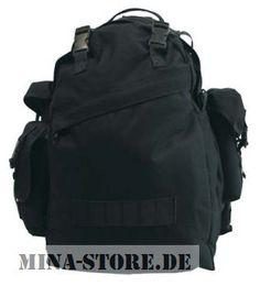 mina-store.de - Rucksack Combo schwarz