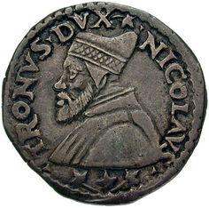 Republik Venedig. Doge Nicolò Tron (1471-1474). Lira (ab 1472). Nach. Ø 2,84 cm 6,37 g. Silber.