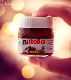 mini nutella for people like me who have no self control instead of eating a big jar just eat this little one