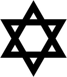 The Star of David is used as a symbol of Judaism.