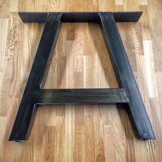 X Shape Thick Industrial Metal Table Legs 2x2 Lakeshore