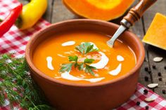 Nutrisystem provides a delicious and healthy recipe for a Creamy Butternut Squash Soup.