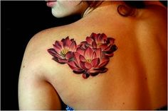 lotus flower and water tattoo | Labels: Flower Tattoos , Lotus Tattoos