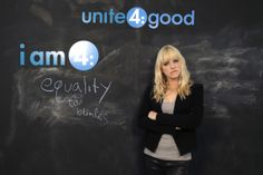 Anna Faris attends the Variety Studio supporting unite4:good, on Wednesday, November, 20, 2013 in West Hollywood, California.