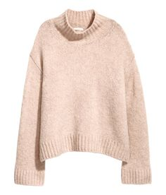 H&M Knit Wool-blend Sweater Fall Outfits, Cute Outfits, Sweater Shop, Pullover, Cardigan Sweaters For Women, Wool Blend, Fashion Online, Pink Ladies, Latest Trends