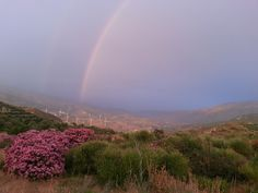 Rainbow in Lecrin Valley Andalusia, Spain  http://www.piccavey.com/happiness-valley-granada-lecrin/
