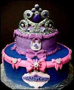 Tiara Princess Cake ~ Custom-Made-To-Order Cakes & Desserts www.sumptuoustreats.com