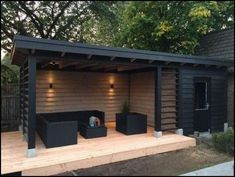 Garden room ideas 147 incredible backyard storage shed design and decor ideas page 35 Backyard Storage Sheds, Backyard Sheds, Shed Storage, Pool Shed, Storage Design, Storage Ideas, Backyard Patio Designs, Backyard Landscaping, Backyard Pergola