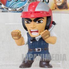 Denjin Zaborger Yutaka Daimon Figure Key Chain P Production JAPAN TOKUSATSU