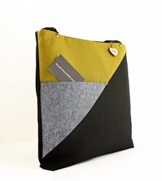 Closeout SaleWC Tote Linen and Canvas Tote by YellowWallpaper