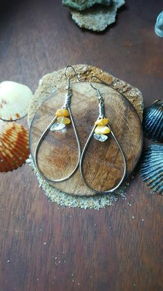Check out this item in my Etsy shop https://www.etsy.com/listing/471829055/citrine-clear-quartz-earings-crystal